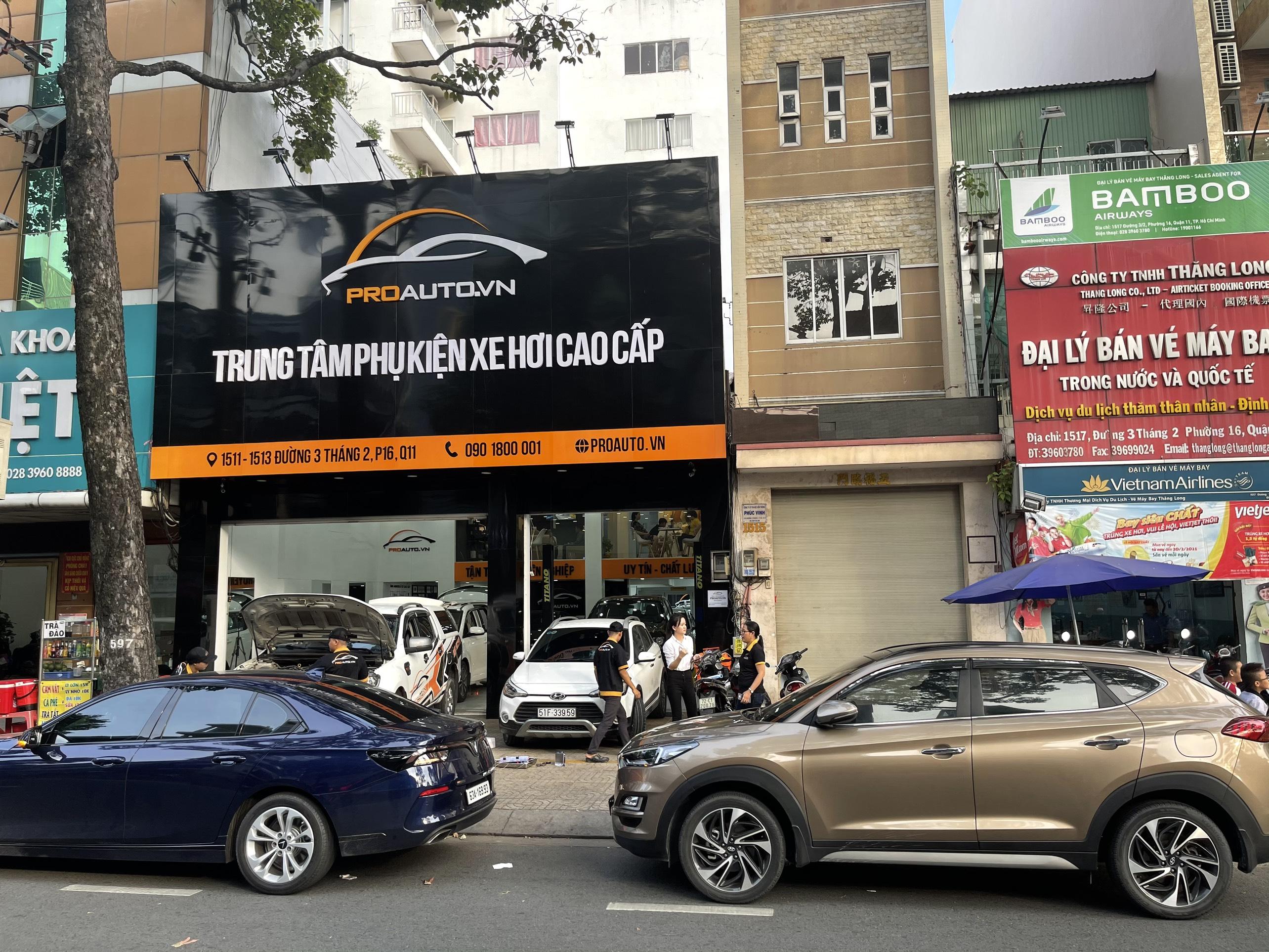 Trung tâm phụ kiện xe hơi cao cấp ProAuto.vn